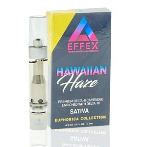 Delta Effex Hawaiian Haze Delta 10 Sativa Cartridge