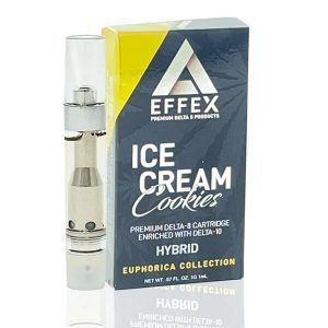 Delta Effex Ice Cream Cookies Delta 10 Hybrid Cartridge